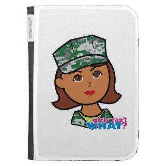 Military Woman Kindle Cover