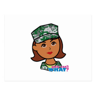 Military Woman Post Cards
