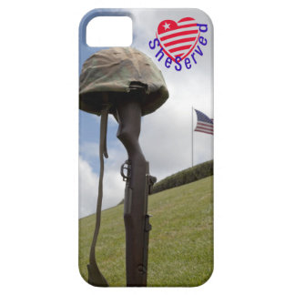 Military women, SheServed her country too! iPhone 5 Covers