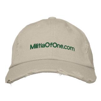 MilitiaOfOne.com Hat Baseball Cap