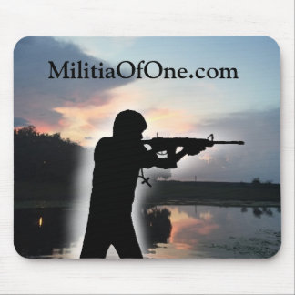 MilitiaOfOne.com Mousepad