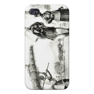 Milk and Capim Vendors iPhone 4 Cover