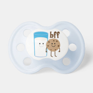 Milk And Cookies BFF Baby Pacifiers