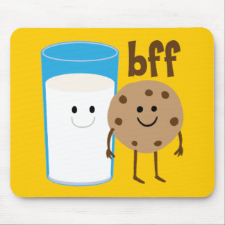 Milk And Cookies BFF Mouse Mat