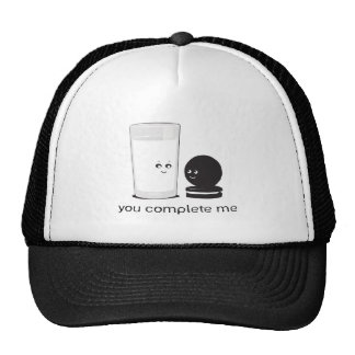 Milk and cookies cap