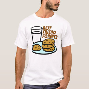 1c8d09e283 Milk And Cookies T-Shirts & Shirt Designs | Zazzle UK