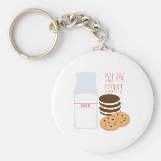 Milk and Cookies Key Chains