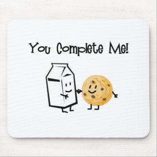 Milk and Cookies Mouse Pad