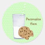 milk and cookies sticker