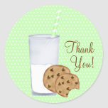milk and cookies stickers