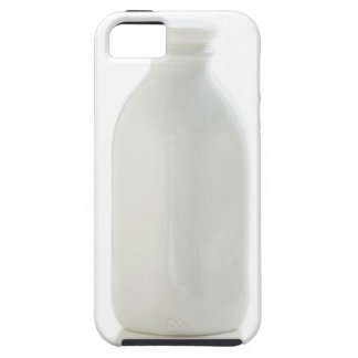 Milk bottle on white background iPhone 5 cover