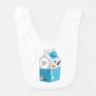 Milk Carton Baby Bib