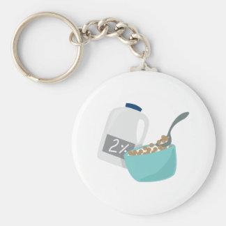 Milk & Cereal Keychain