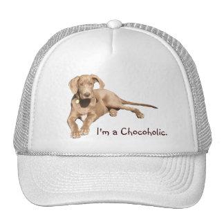 Milk Chocolate Dane - I'm a Chocoholic. Hat