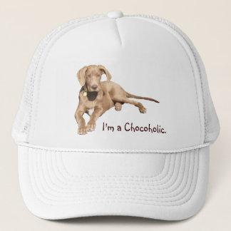 Milk Chocolate Dane - I'm a Chocoholic. Trucker Hat