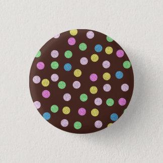 Milk Chocolate Jazzle 3 Cm Round Badge