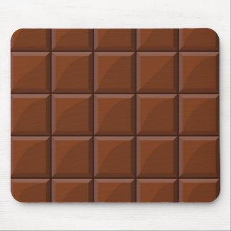 Milk chocolate mouse mat