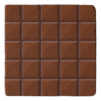 Milk chocolate trivet