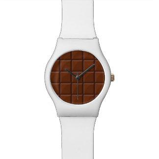 Milk chocolate watches