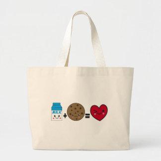 Milk + Cookies Canvas Bag