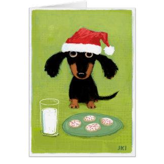 Milk & Cookies Card