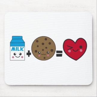 Milk + Cookies Mousepad