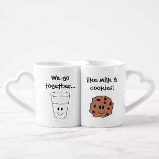 """Milk & Cookies"" Nesting Mugs"