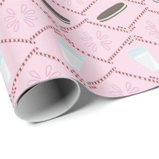 Milk & Cookies Wrapping Paper