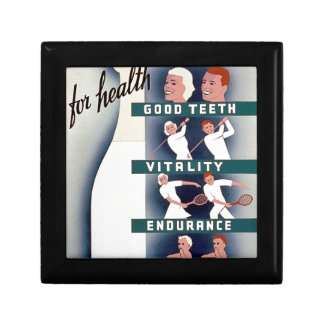 Milk - for health, good teeth, vitality, endurance gift box