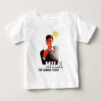 Milk, for summer thirst baby T-Shirt