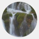 milk.fountain.JPG Classic Round Sticker