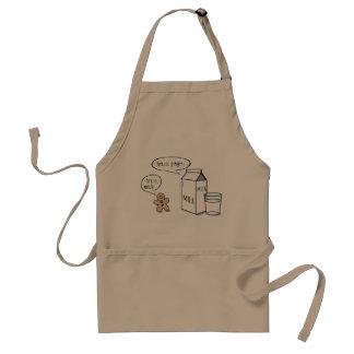 Milk & Ginger Quirky Khaki Apron