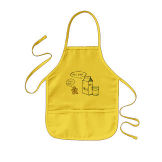Milk & Ginger Quirky Kids Yellow Apron