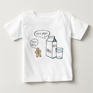 Milk & Ginger - White Kids T-shirt