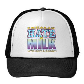 Milk Hate Face Cap