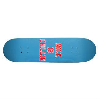 Milk Is Chillin Custom Skate Board