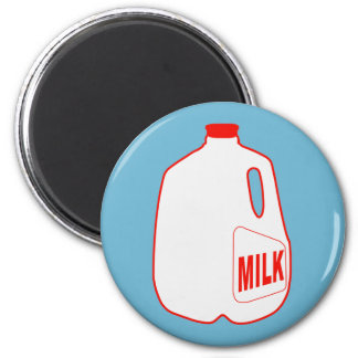 Milk Jug 6 Cm Round Magnet
