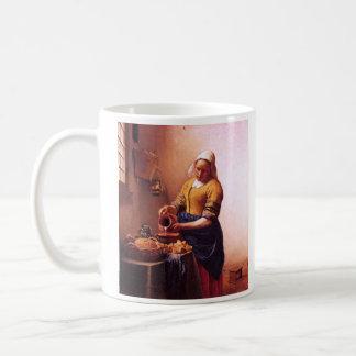 Milk maid by Johannes Vermeer Coffee Mug
