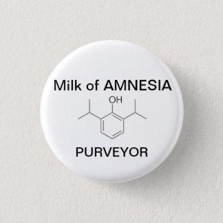 Milk of AMNESIA 3 Cm Round Badge