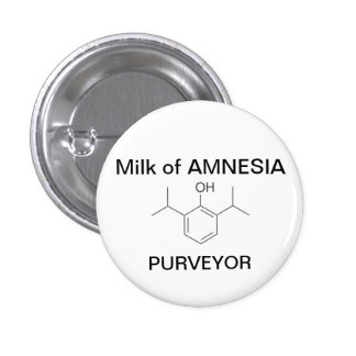 Milk of AMNESIA 3 Cm Round Badge
