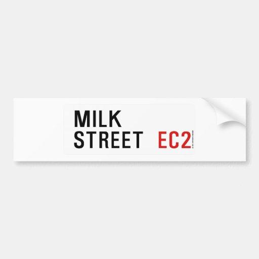 Milk Street Bumper Stickers