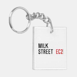 Milk Street Acrylic Key Chains