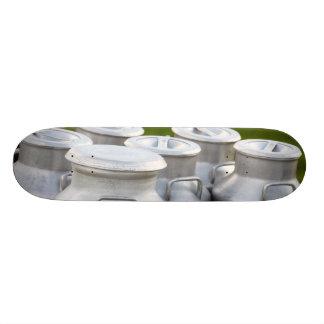 Milk urns custom skate board