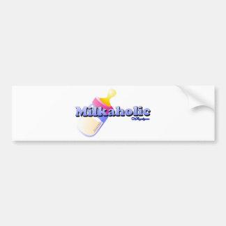 Milkaholic Car Bumper Sticker