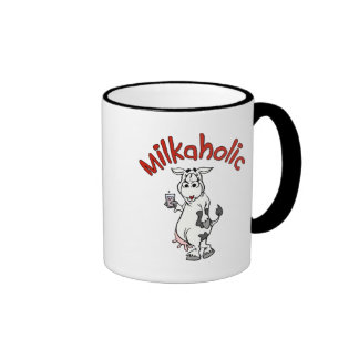 Milkaholic Ringer Mug