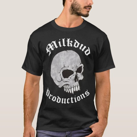 Milkdud Productions Skull T-Shirt