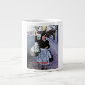 Milkmaid with earthenware vessels/Milkmaid with po Jumbo Mug