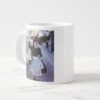 Milkmaid with earthenware vessels/Milkmaid with po Jumbo Mugs