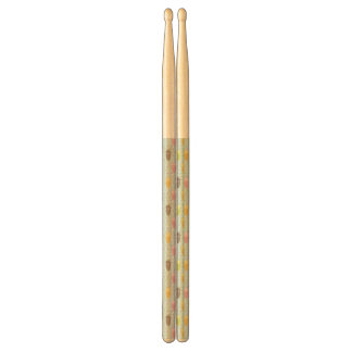 Milkshake Pattern Drumsticks