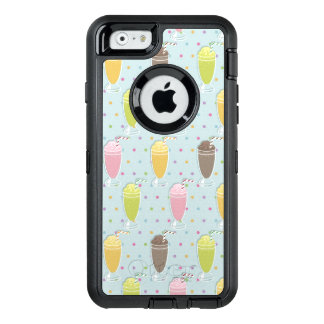 Milkshake Pattern OtterBox iPhone 6/6s Case